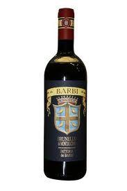 Brunello di Montalcino Vino Rosso docg Barbi & Colombini