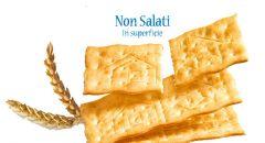 Crackers Non Salato in Superficie Mulino Bianco