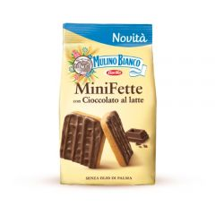 Mini Rusks with Milk Chocolate Mulino Bianco