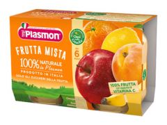 Baby Fruit Puree Plasmon