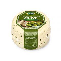 Olive Caciotta Cheese Tre Valli