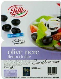 Olive Nere Polli in vaschetta