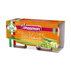 Peas and Courgettes Baby Food Plasmon