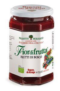 Confettura Biologica Fiordifrutta Frutti di Bosco Rigoni di Asiago
