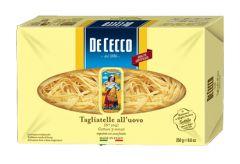 Pasta Tagliatelle all'uovo De Cecco 250 gr
