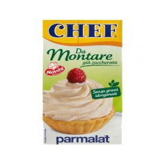 Panna da montare zuccherata Chef Parmalat 500ml