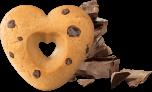 Frollini con Gocce di Cioccolato Re di Cuori Colussi