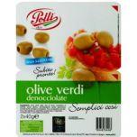 Olive Verdi Polli in vaschetta