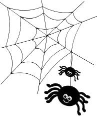 spider halloween box